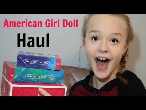 AMERICAN GIRL DOLL HAUL