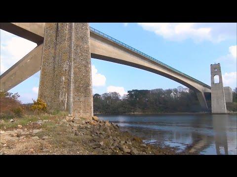 Balade au Pont du Bonhomme ; Pont ; Kervignac ; Lanester ; Pont à Poutres ; Bretagne ; France