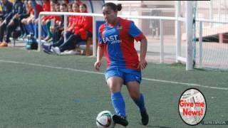 Golazo de Charlyn Corral en España a lo Messi!
