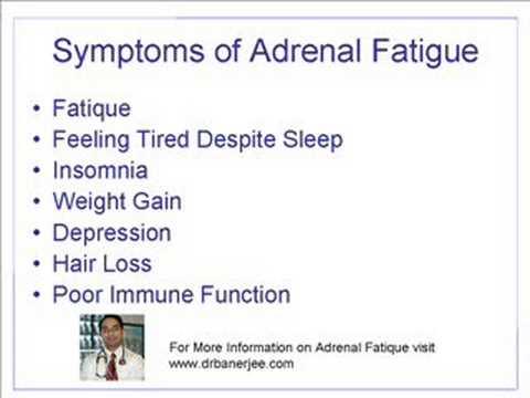 Dr. Banerjee Discusses Adrenal Fatigue