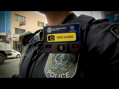 SA Police rolls out body worn video cameras