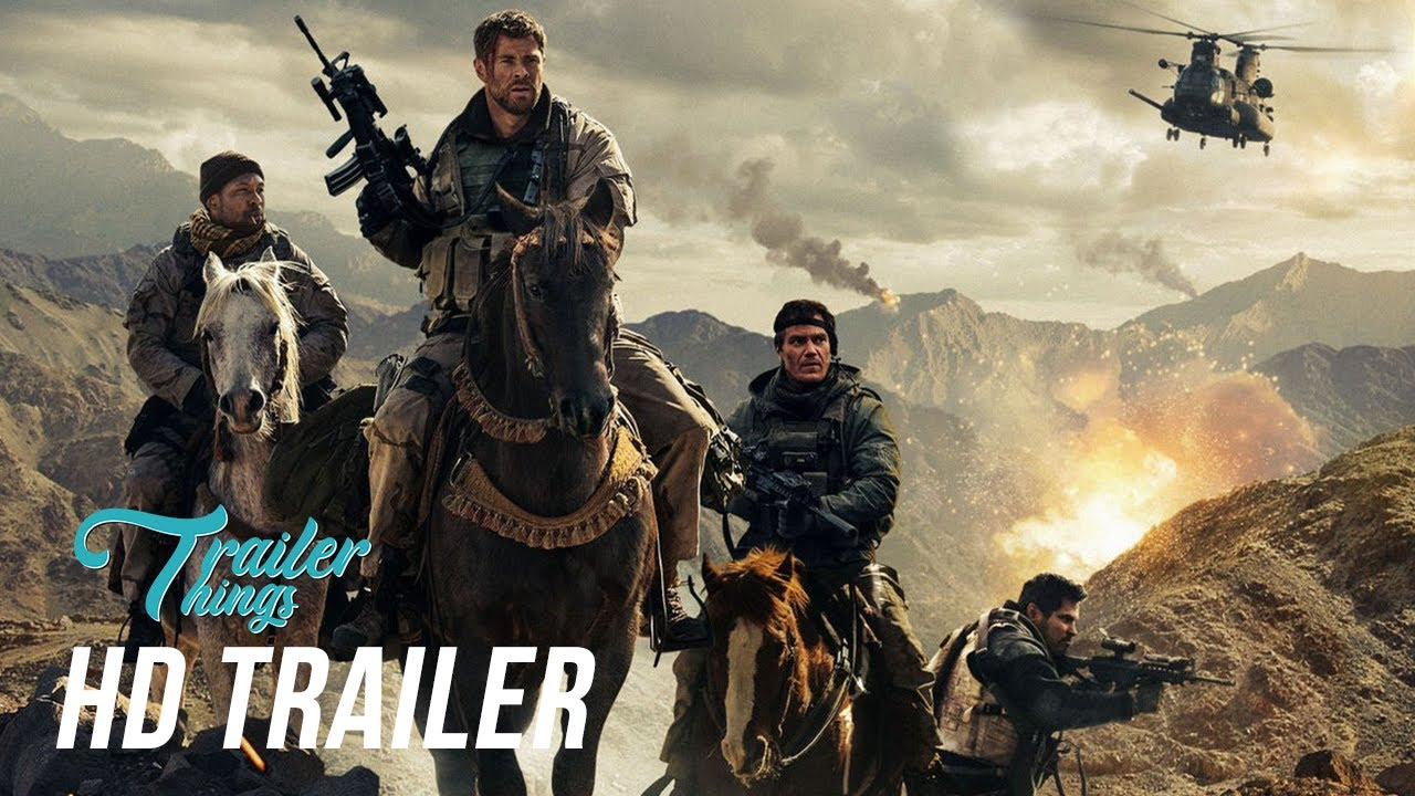 Download 12 Strong Official Trailer (2018) | Trailer Things