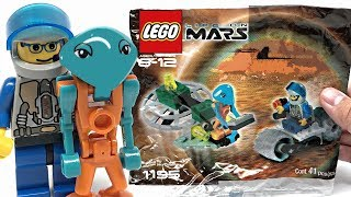 LEGO Life on Mars Alien Encounter review! 2001 polybag 1195!