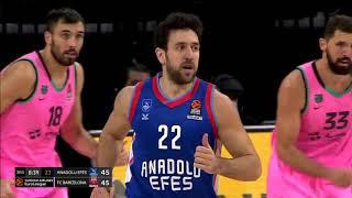 22.12.2020 / Anadolu Efes - FC Barcelona / Vasilije Micic