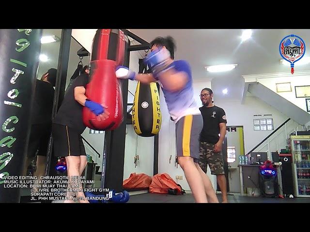 Suasana Latihan di Lokasi Bumi Muay Thai Bandung Sekarang