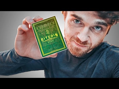 You will NEVER see these playing cards again! (Bitcoin Playing Cards)
