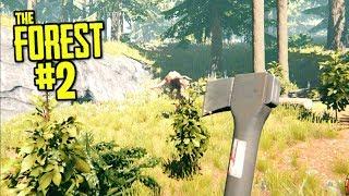 NOWOCZESNA SIEKIERA VS MUTANTY - THE FOREST #02