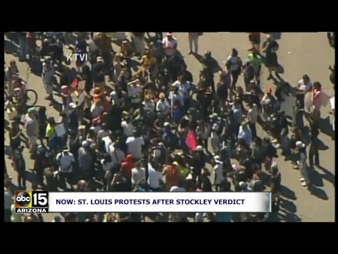 LIVE: NOT GUILTY! Protests after St. Louis police officer found not guilty in shooting death