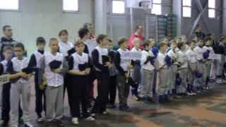 Відкритий турнір з бейсболу м.Кіровоград 9-11.01.14р