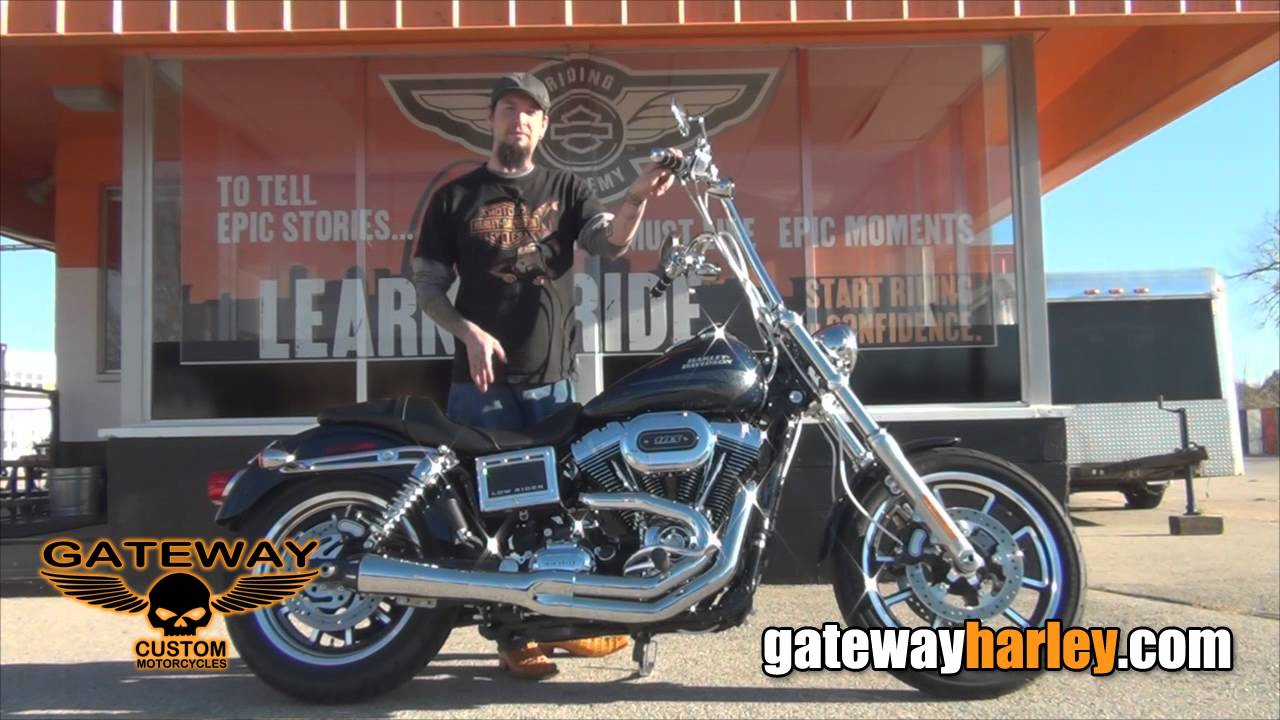 Custom 2016 Harley Davidson Dyna Low Rider