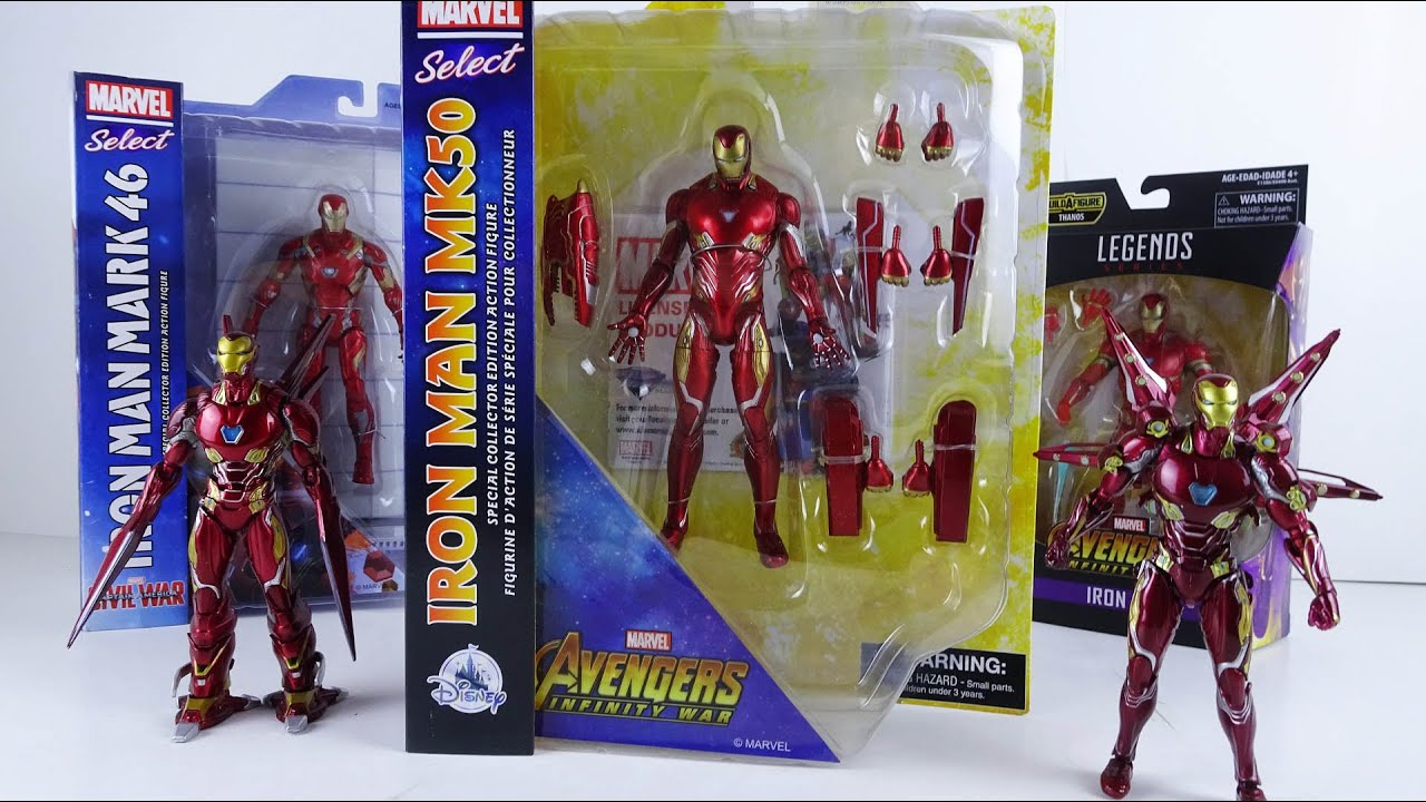 Железный Человек Марк 50 от Diamond Select (Marvel Select ...
