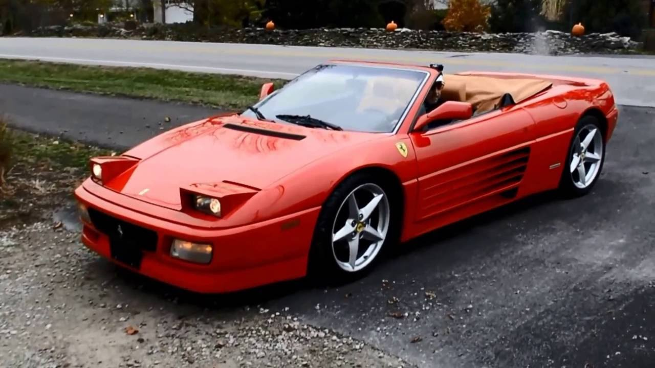 ferrari 348 spider for sale in dublin ohio sold youtube. Black Bedroom Furniture Sets. Home Design Ideas