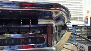 Mopar 854 Push Button AM Radio 1957-58