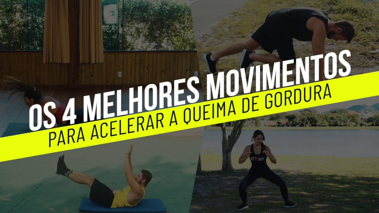 👉 Seleção dos 4 Melhores Movimentos para Acelerar a QUEIMA DE GORDURA | Grupo Q48