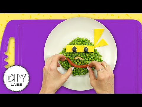 How to make a NINJA TURTLE Snack | Baby Food Art | Healthy-n-Yummy | DIY Arts & Crafts for Parents