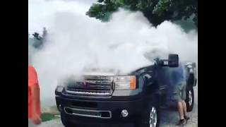 GMC DURAMAX catches on fire - Manufacture Electric Issues !