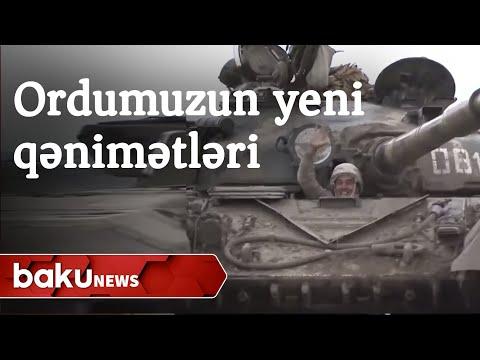 Ermənilərin Horadizdən qaçarkən tərk etdiyi zirehli texnika - Baku TV
