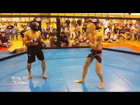 "War in the Cage 5 [Fight 12]: ""Rock n Rolla vs คุณชายพันธุ์โชะ"" Featherweight (-145lb)"