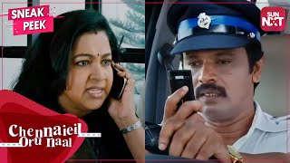Will Cheran reach the hospital on time? | Chennaiyil Oru Naal | Full movie on Sun NXT | Madras Day