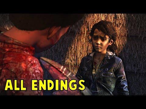 The Walking Dead Season 4 Episode 4 - All Endings