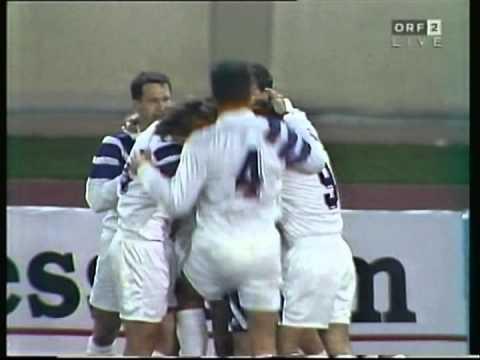 1994 March 3 Salzburg Austria 1 Eintracht Frankfurt Germany 0 UEFA Cup