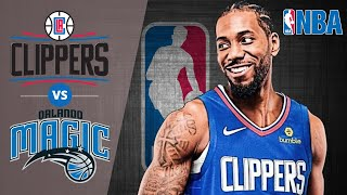 LA Clippers vs Orlando Magic - Halftime Highlights | January 16, 2020 NBA Regular Season