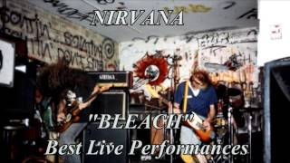 Nirvana Bleach Best Live Performances