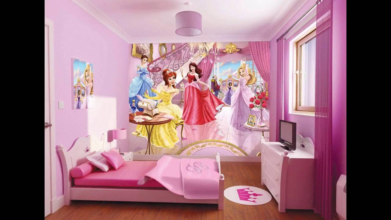 Decoraci n del dormitorio de la princesa de disney - Dormitorios de princesas ...