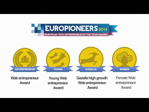 Europioneers 2014 : European Tech Entrepreneur of the Year Award
