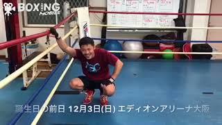【ボクシング】向井寛史(六島) 2017/11/25