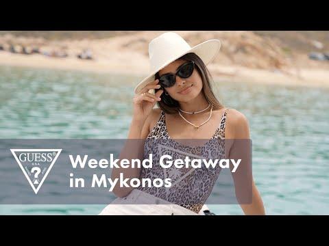 Weekend Getaway in Mykonos   #LoveGUESS