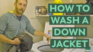 How to Wash Down Sleeping Bags and Jackets