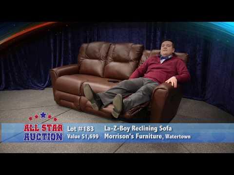 Morrison's Furniture LA-Z-Boy Leather Sofa