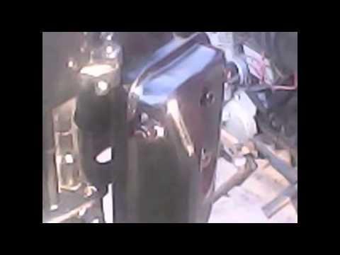 motor fuera de borda casero