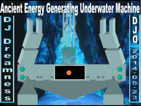 DJ DREAMNESS - Ancient Energy Generating Underwater Machine (2014)