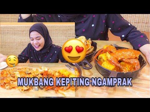 Mukbang Kepiting Ngamprak Medan Youtube