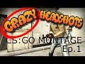CSGO MONTAGE | Crazy headshots and aces! | Kynan Games
