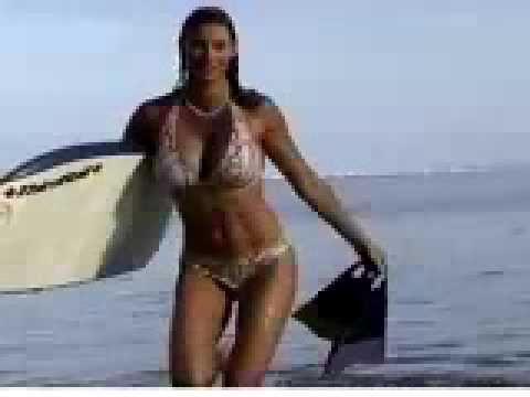 Playmate Kara Styler in Hawaii sufer girl AKA Playmate Surfer