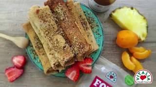 Vitalia healthy food - Интегрални палачинки со чоко крем (diet, vegetarian)