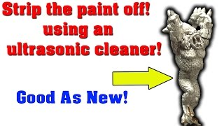 Stripping Miniatures with the UltraSonic Cleaner!