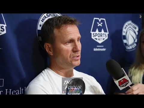 Wizards Training Camp Day One - Scott Brooks, Mike Scott, Brad Beal Interviews
