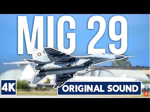 Rumen Radev President of Republic of Bulgaria MiG 29 Fulcrum MEMORABLE Airshow Display