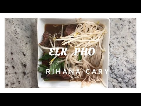 Homemade Pho - Rihana Cary
