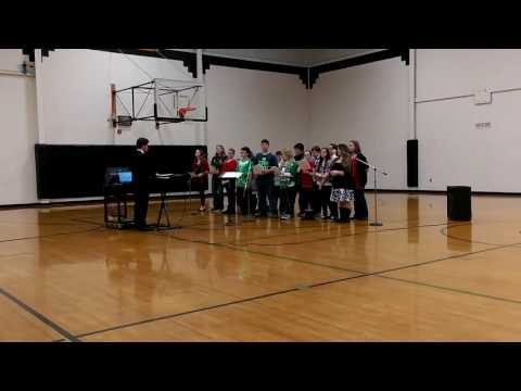 McKell Middle School Christmas Concert 2015 Part 8