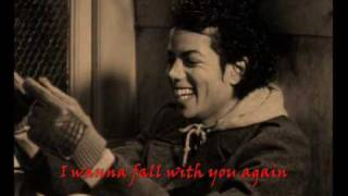 Michael Jackson - Fall Again [Subtitles Lyrics] custom video