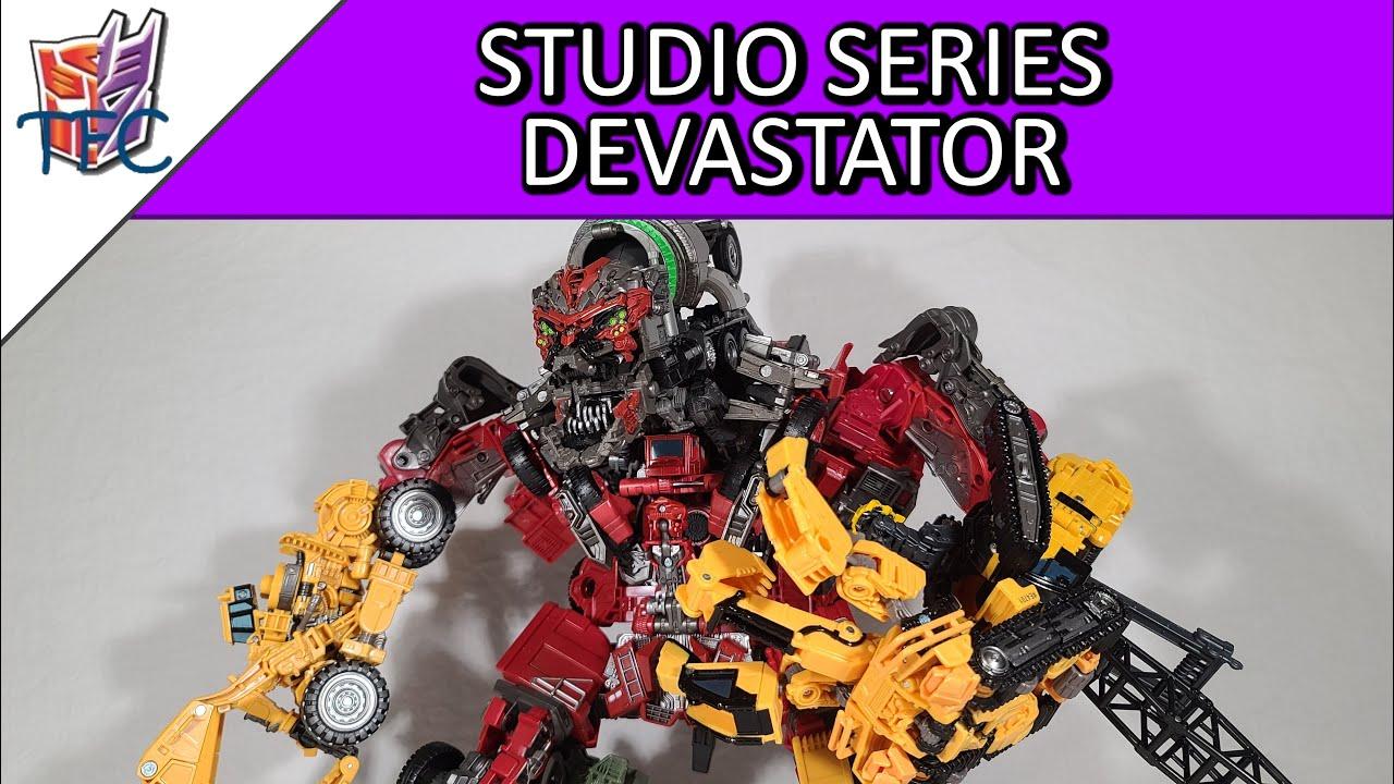 TF Collector Studio Series Devastator Review!