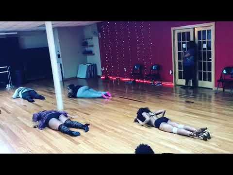 Curvy Girls Pole Sexy Floor Class - Goapele Play