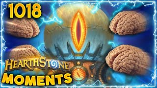 Only 900 IQ Plays In Here | Hearthstone Daily Moments Ep.1018