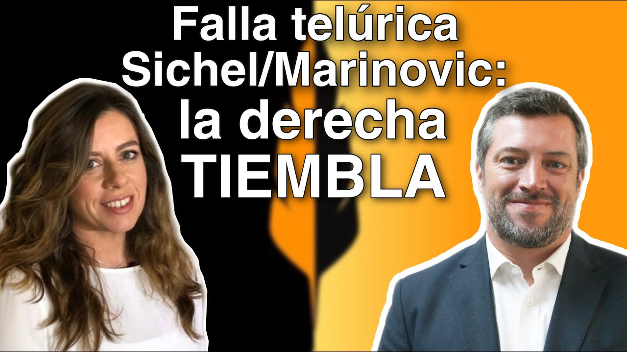 Falla telúrica Sichel/Marinovic: la derecha tiembla