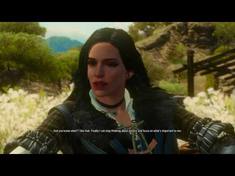 Witcher 3 ciri yennefer blowjob geralt full game on hotmodpro - 3 8